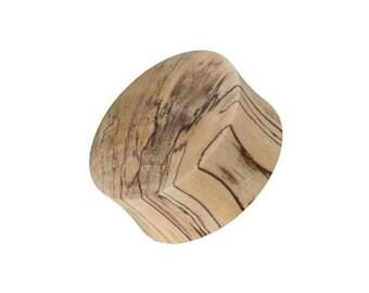 Mandarin wood Ear Plug, Ear plugs, Wood gauges, Wood plugs,Organic plugs, Simple plugs, Classic plugs, Ethnic jewellery, Light plugs