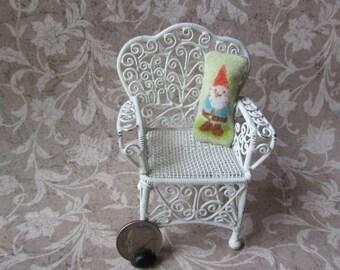 Dollhouse Miniature Gnome pillow