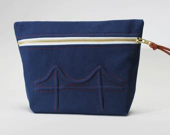 Golden Gate Cosmetic Bag