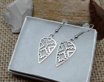 Arrowhead Earrings,Tribal