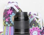 CYBER Weekend Sale DSLR Lenses Bag CUSTOM Size Drop in Bag (Pouch) Canon Nikon