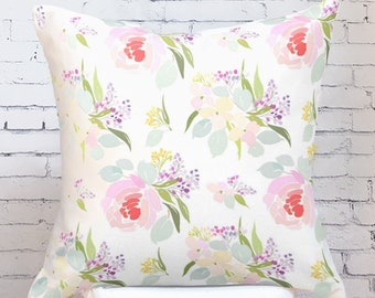 Floral Pillow Cover Spring Eloise Floral