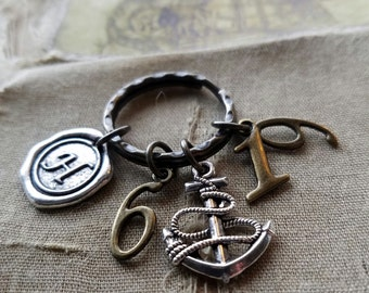 Christian keyring-Hebrews 6:19-We have this hope as an anchor...