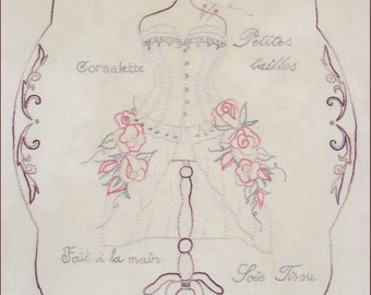 La Maison de Couture Stitchery Pattern