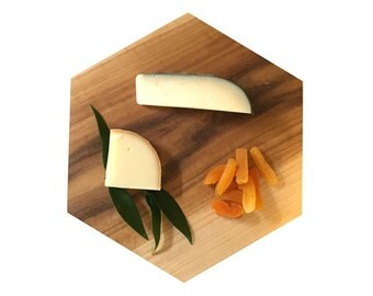 Hexagon shaped cheese boards. Kitchen display boards. Serving board.