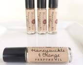 Honeysuckle & Orange Perfume Oil - Roll On Perfume Oil, Roller Perfume Oil