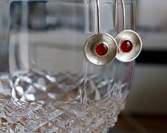 Handmade Sterling Silver Gemstone Earrings