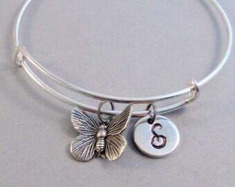 Pretty Butterfly,Butterfly Bracelet,Butterfly Bangle,Bangle,Woodland Bracelet,Wing Bracelet,Wing Bangle Bracelet.Silver Bracelet,Jewlery,