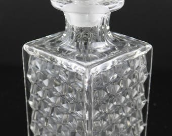 American Fostoria, Crystal Decanter with Stopper