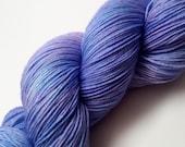 "Scops Base: ""Purple Nurples"" Superwash Merino/Nylon Fingering Yarn"