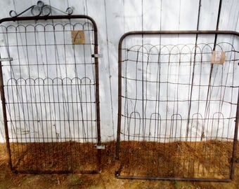 Pick One   Antique Rustic Garden Gate For Your Yard Or Garden Decor, Ups  Shipping