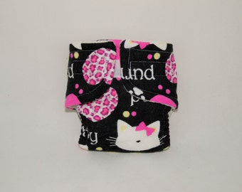 Bitty Baby Doll Diaper - Kitty - Size Large