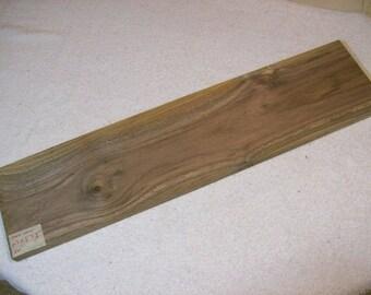 Black Walnut Board / Lumber / Exotic Grain Walnut / 24 X 5 5/8 X 3/4 Inches / A20