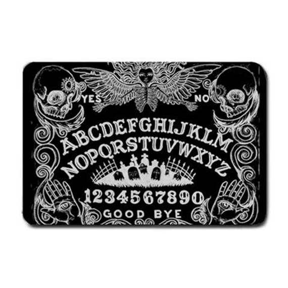 Ouija Board Black Floor Mat