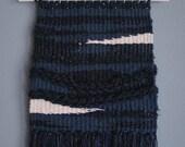 002 // M o s t l y N e g a t i v e // Wall Weaving Woven Tapestry