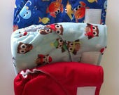 Ready to ship - All-in-one Cloth Diaper - Velcro