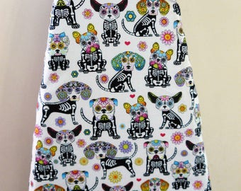 Ironing Board Cover - Dogs pug dog puppy poodle xray flowers bones bright