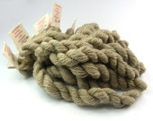 Embroidery yarn, hand-dyed with natural dyes, merino thread, embroidery floss, 20m, dyed with SORREL, grey  color, 191