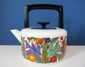 Villeroy and Bosh Acapulco kettle Vintage