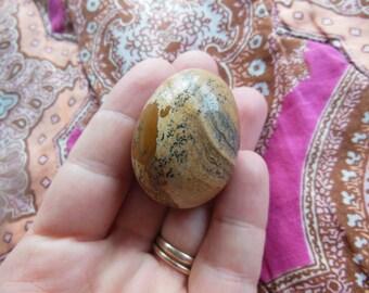 FLAWLESS Genuine Dendritic Picture Jasper Crystal Yoni Kegel Undrilled Egg Reiki Healing Medium Small  Energy Tool Massage
