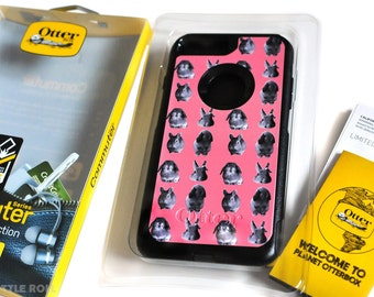 SALE! Orange Apollo's Otterbox Commuter Case for Bunny Lovers (for Apple iPhone 7 Plus)