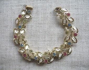 Vintage Rhinestone  Bracelet ~ 1950's