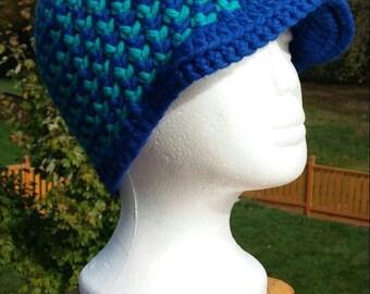 My Boshi Crochet Hat Cap with Visor