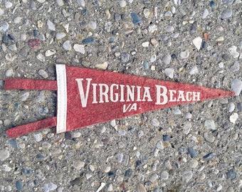 Vintage Virginia Beach Pennant