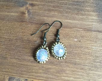 Upcycled Beaded Earrings