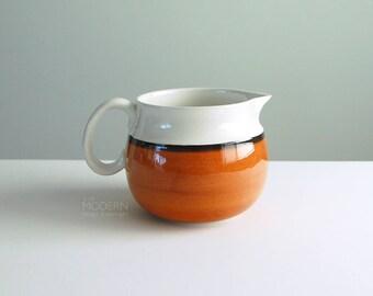 Gustavsberg Arena Swedish Ceramic Pitcher by Stig Lindberg 1970s Modern
