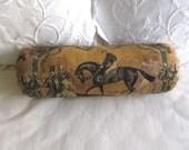 GLADIEUTEUR horse toile 7x20 Bolster/lumbar/throw pillow