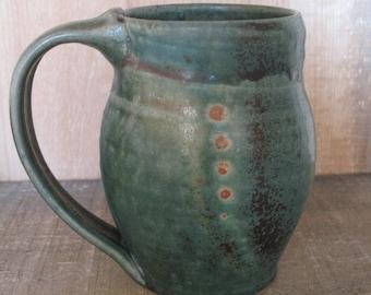 Mug, Cup 16 ounces, hand thrown stoneware by Jennie Blair