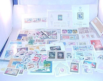 100 Postage Stamps From Around The World