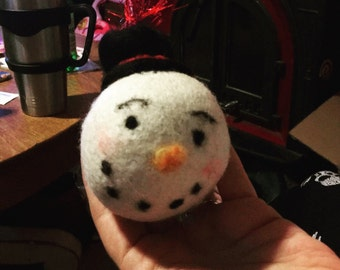 Frosty the snow man ornament