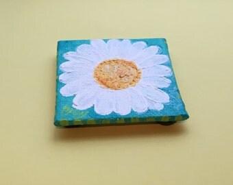 Daisy Art magne, mini acrylic art