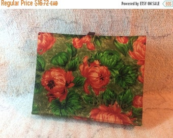 10% OFF Retro 70s 60s Floral Bill File Made in Japan