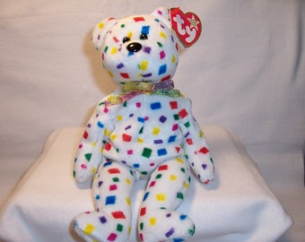Ty Beanie Baby Ty 2K,Stuffed Animals,Bears,Ty Beanie Babies,Collectibles,Toys,Gifts