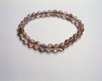 Super seven - 29 beads - 6mm - 8 grams - melody stone - SS8