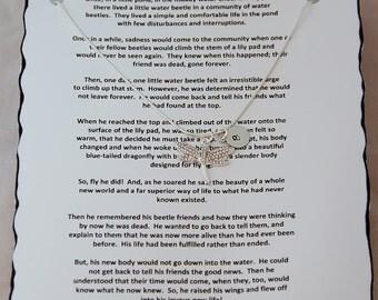Dragonfly Necklace, Dragonfly, Dragon Fly, Dragonfly Symbol, Dragonfly Charm, Dragonfly Jewelry