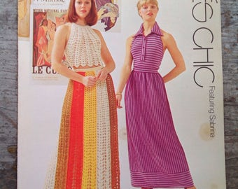Vintage 1973 Spinnerin Minibook Yarn Knitting Pattern Book 348