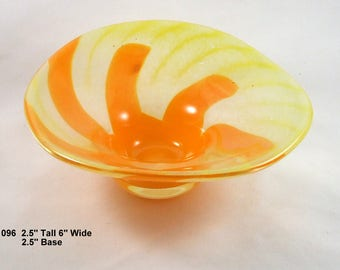 Yellow and Orange Bowl