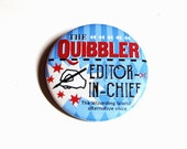 Wizard Quibbler Accessories Geeky Pinback Buttons Nerdy Apparel