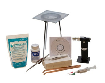 Soldering Kit -Comes with everything you need-Plus a Free How to DVD-Get started TODAY