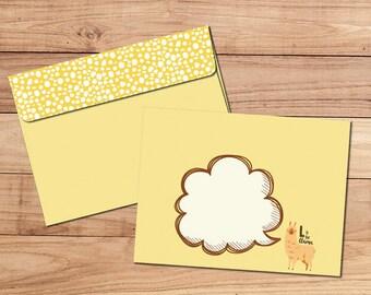 Envelope Pack - L is for Llama