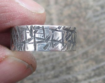 Sterling Silver Ring Stacking Ring Size 6 3/4 Ring Silver Ring Band