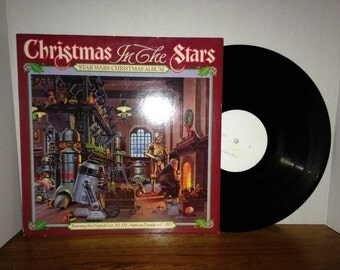 MEGA RARE Test Pressing Star Wars Christmas Album Vinyl