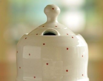 Sugar Jar, Red Dot