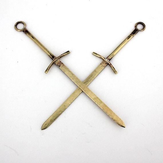 Handmade Sword Letter Opener - personalized