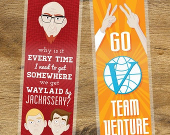 The Venture Brothers Laminated Bookmark