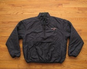 Polo sport spell out reversible puffy jacket